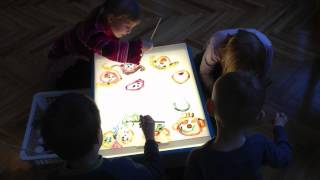 Creating On The Light Table