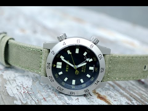 Resco R-TAC - Good looking but expensive GMT Diver