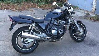 Honda CB400sf Black overview