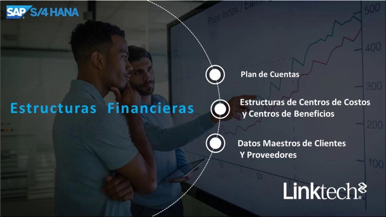 Estructuras Financieras Sap S4hana