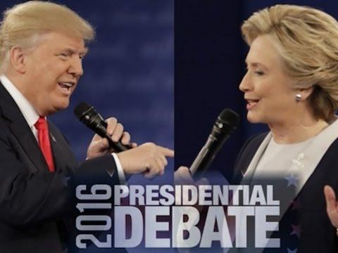 Clinton, Trump Trade Fire, Insults in 2nd Debate
