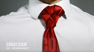 Cách thắt cà vạt kiểu Chong Chóng Xoay - Cavat.com