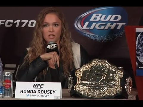 UFC 170: Pre-Fight Press Conference Highlights