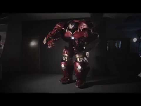 Creating a $60,000 Hulk Buster Costume