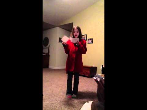 Hannah - Mozart Speech