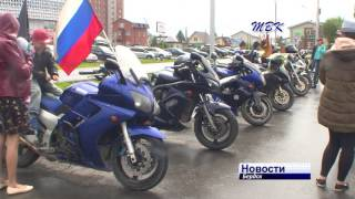 В День России в Бердске прошла выставка мотоциклов