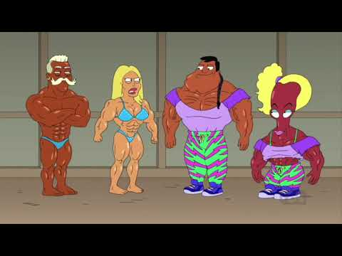 American Dad: Stan And Roger On Steroids