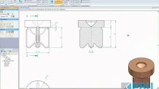 Solid Edge Design & Drafting Teil II, Daft, Video 1/2