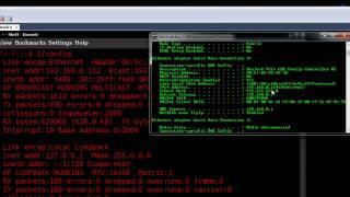 Setting up a Network Connection in Linux (Backtrack)