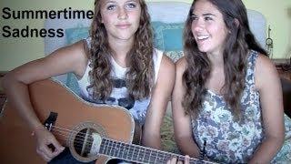 summertime sadness- lana del rey live acoustic cover mia bergmann and rachel olivo