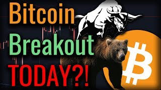 HUGE Breakout Coming TODAY? This Week Will Be Decisive For Bitcoin