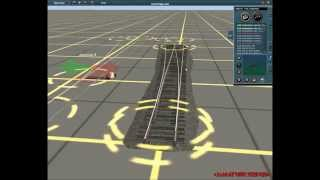 New animated switches for Trainz Simulator - script test
