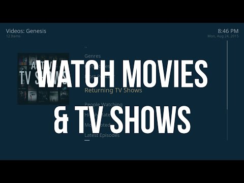 HOW TO Watch Movies & TV Shows (Genesis) On OSMC Raspberry Pi Kodi - August 2015