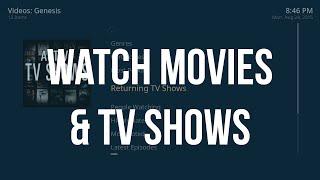 HOW TO Watch Movies & TV Shows (Genesis) on OSMC Raspberry Pi Kodi - August 2015