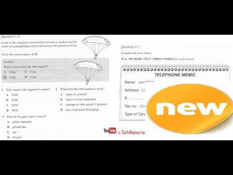 Ielts Listening Practice From Real Exam 31 Hard With Key