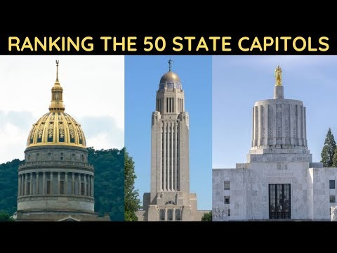 Ranking The 50 State Capitols