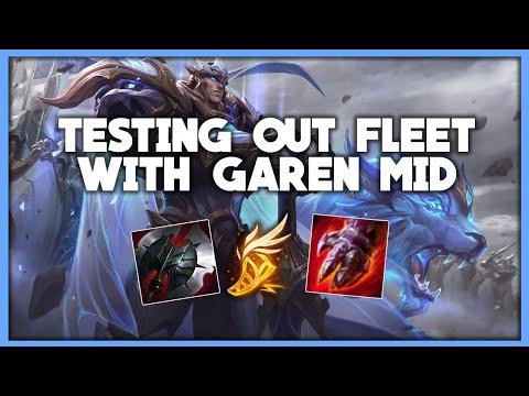 Going FLEET With GAREN MID | CHALLENGER GAREN Vs Camille | League Of Legends