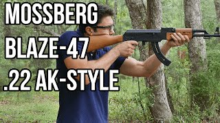 Hands-On Review of the Mossberg Blaze-47 AK-style .22 Rifle