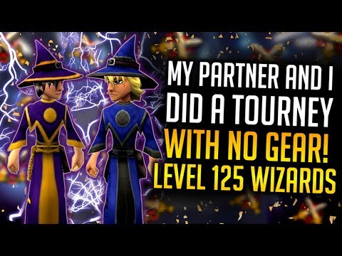 Wizard101: My Partner & I DID A Tournament With NO GEAR!! 😨 (INSANE TURNOUT)