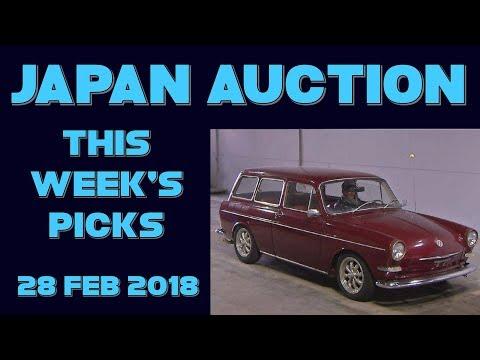 Japan Weekly Auction Picks 059 - 28 Feb 18
