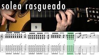 Flamenco Guitar 102 - 05 Solea Rasgueado