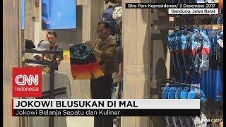 Presiden Jokowi Blusukan di Mall PJV Bandung