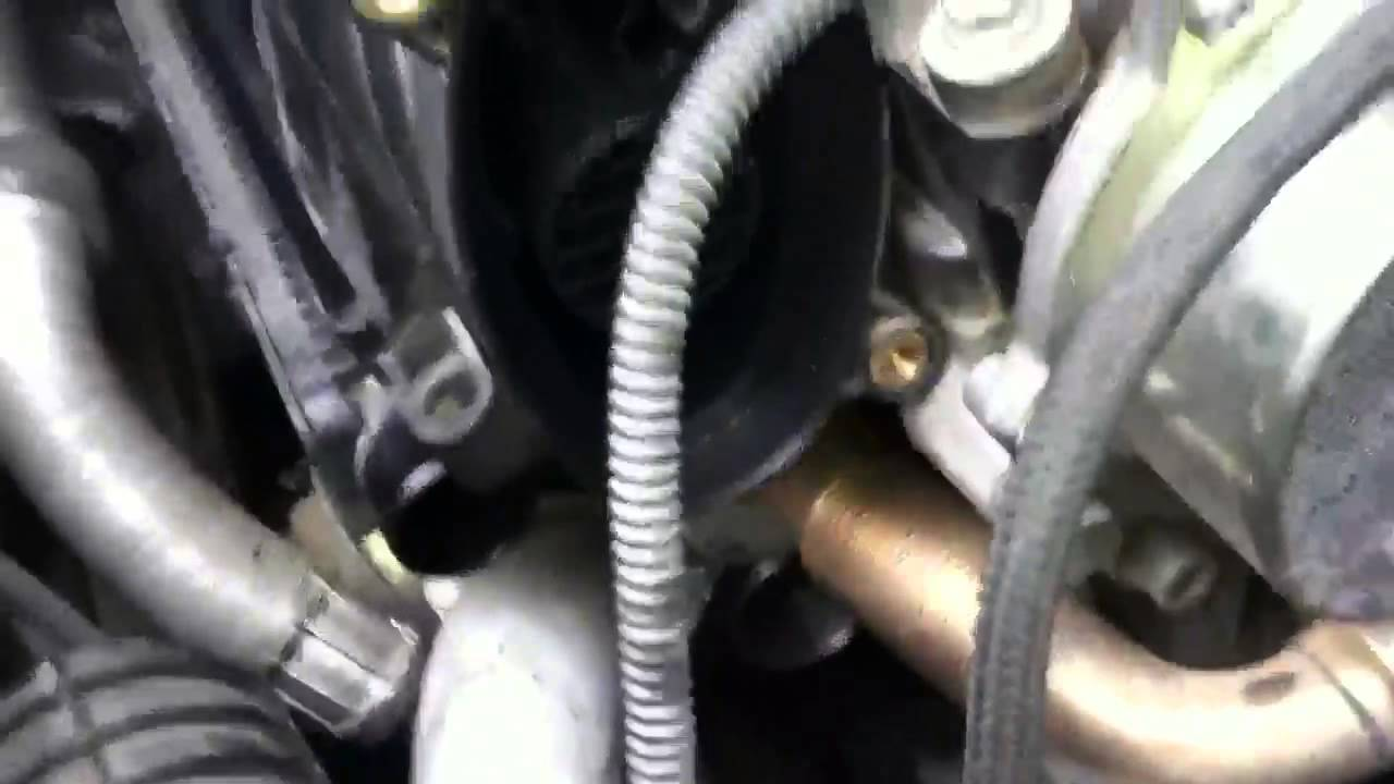 Bmw E46 320cd Turbo Air Intake Oil Youtube