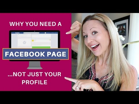 Facebook Page vs Profile - Why You Need To Have A Business Page To Grow Your Business On Facebook
