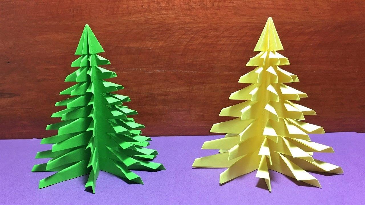 DIY Christmas Tree Paper Making/Xmas Tree Paper Decorated