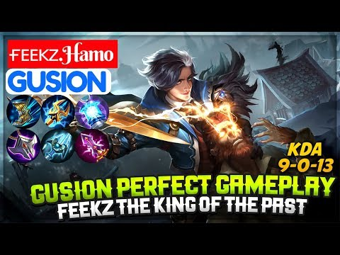 Gusion Perfect Gameplay, Feekz The King of The Past [ Top 1 Global Gusion S7 ] ғᴇᴇᴋᴢ.Hamo Gusion