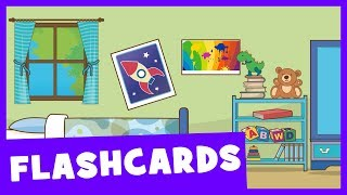 Learn Rooms of the House | Talking Flashcards