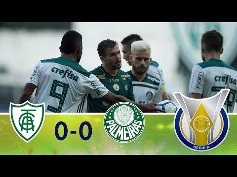 Melhores momentos - América-MG 0 x 0 Palmeiras - Campeonato Brasileiro (05/08/2018)