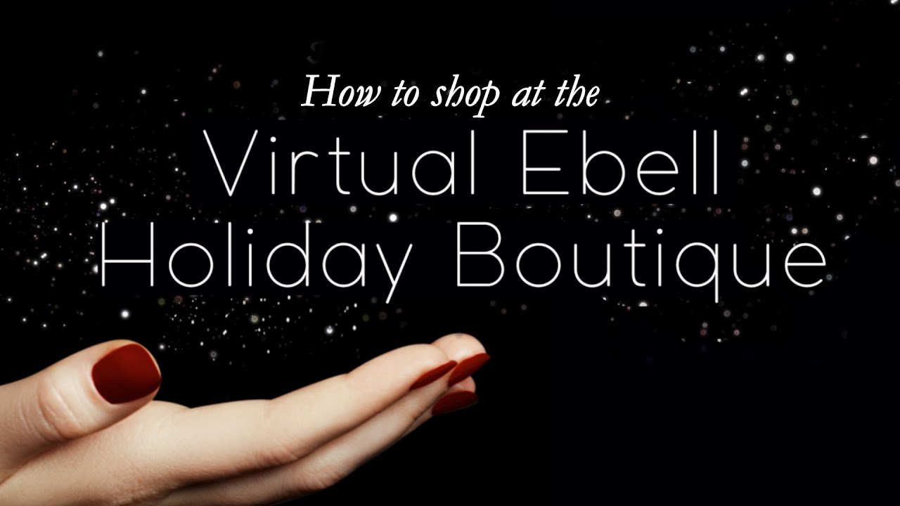 How to shop the Virtual Ebell Holiday Boutique