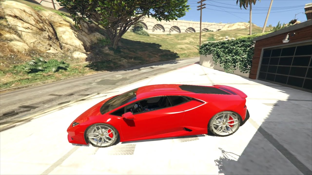 gta v lamborghini huracan roadster pov drive and exhaust sound hd youtube. Black Bedroom Furniture Sets. Home Design Ideas
