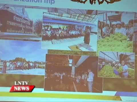 Lao NEWS on LNTV: Laos & Thailand are working together in trade, investment & tourism.10/9/2015