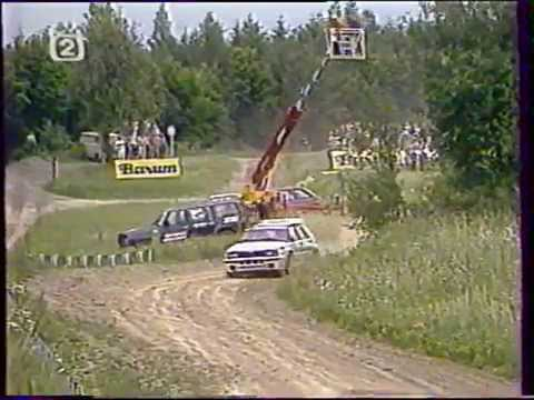 Barum Rally 1993 re-live RZ1 + reportáž ČT