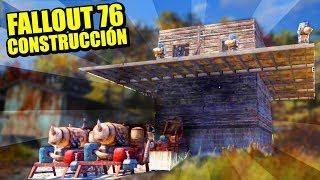 CONSTRUYENDO NUESTRA FORTALEZA, Y ASEDIO DE ORKOS - FALLOUT 76 B.E.T.A. | Gameplay Español