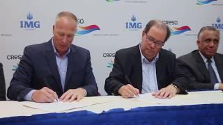 CRESO firma acuerdo de cooperación con IMG Academy //  Felipe Vicini