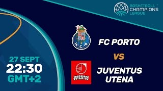 FC Porto v Juventus Utena - Live Qualifier - Basketball Champions League 2016-2017