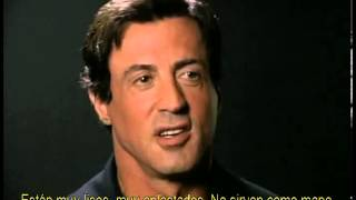 Rocky - Entrevista a Sylvester Stallone con subtítulos en español
