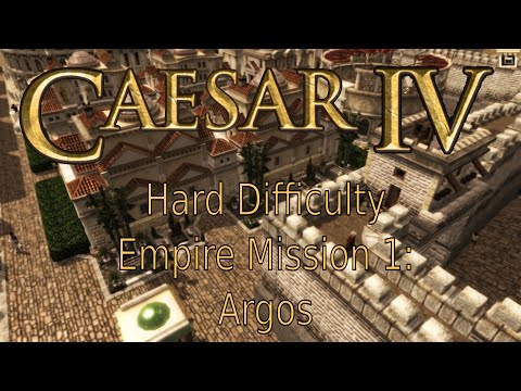 Caesar IV - Hard - Empire, Mission 1: Argos