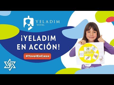 #YovelenCasa - Yeladim en Acción