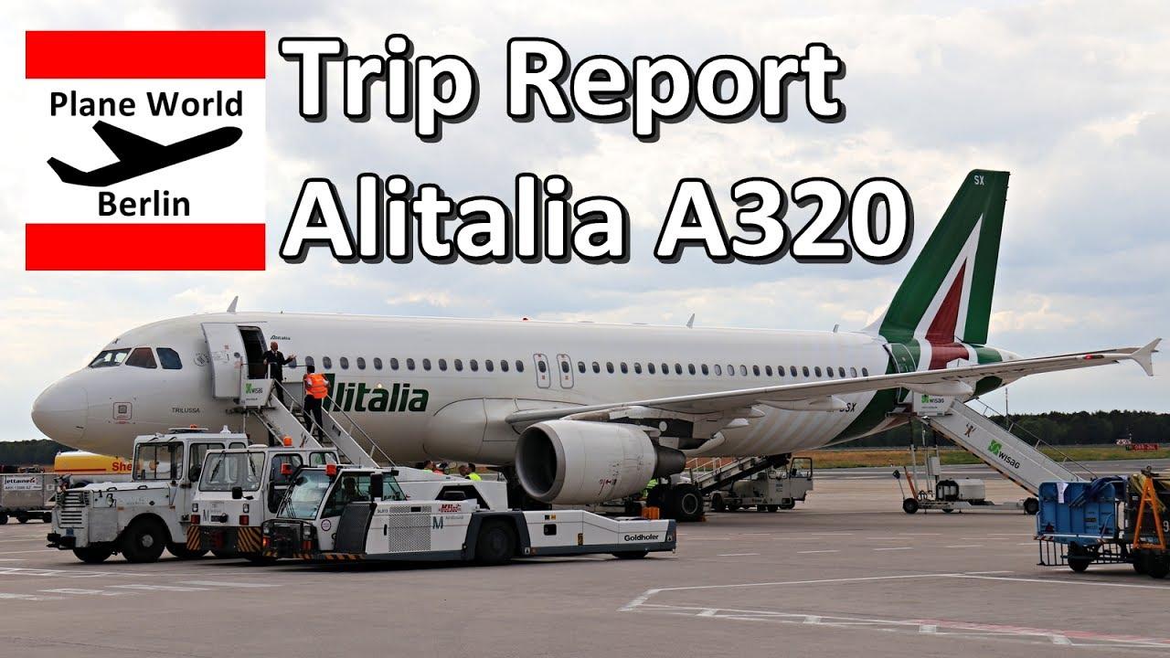 Alitalia trip report