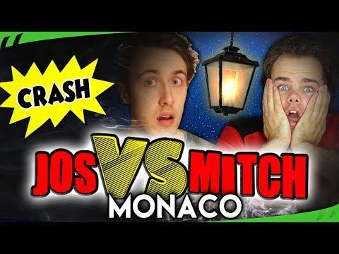 MONACO IN DE NACHT = CHAOTISCH! - Jos VS Mitch S6 (F1 2017) - #4