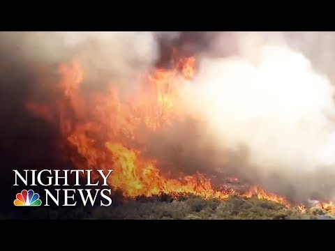 Wildfires Continue To Rage Across The West | NBC Nightly News