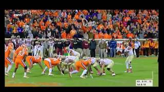 Ryan Izzo TD Catch at Clemson
