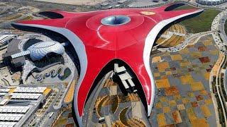 Ferrari World Complete park tour 2018 mission ferrari, formula rossa, turbo track Abu Dhabi Yas UAE