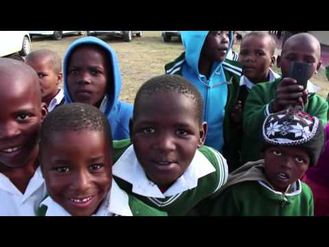 UNICEF & The Cathal Ryan Trust in South Africa