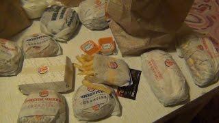 Новинки в Бургер Кинге и моя закупка