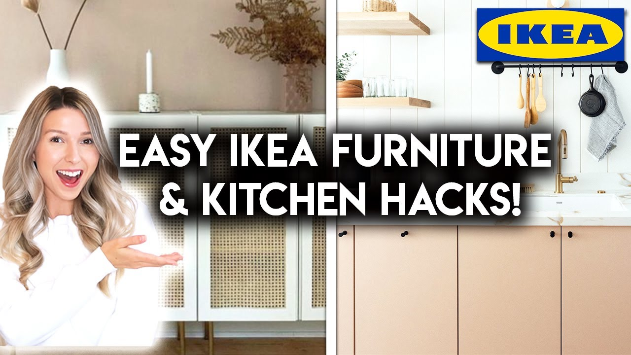 7 IKEA FURNITURE + KITCHEN CUSTOMIZATION IDEAS | DIY IKEA HACKS